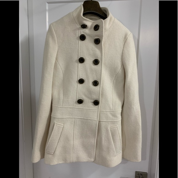 Tommy Hilfiger Jackets & Blazers - White Tommy Hilfiger Coat